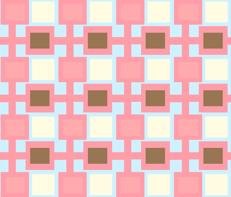 square roots - ice cream social fabric by design_habit on Spoonflower - custom fabric
