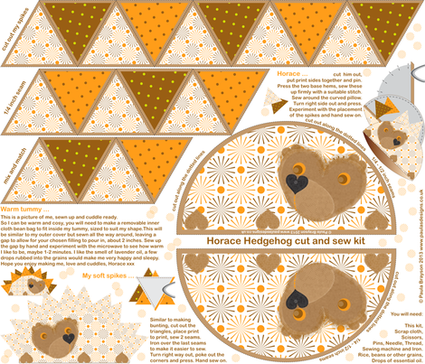HappyHorace fabric by paula's_designs on Spoonflower - custom fabric