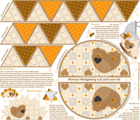 HappyHorace fabric by paula's_designs on Spoonflower - custom fabric