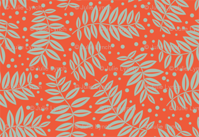 Small leaf branches orange