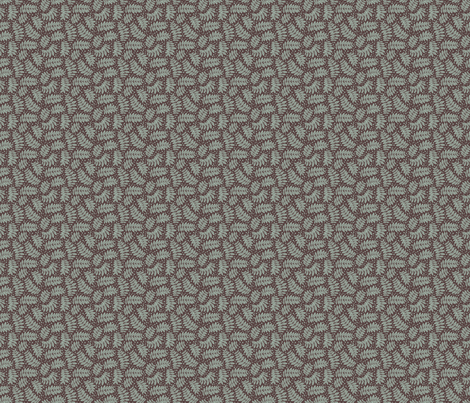 Small leaf branches dark fabric by cjldesigns on Spoonflower - custom fabric