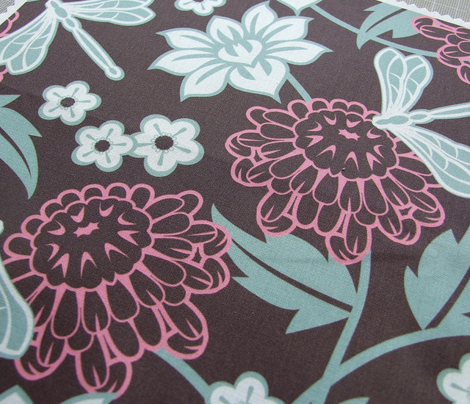 Japanese large floral dark