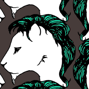 Punk Lion Green