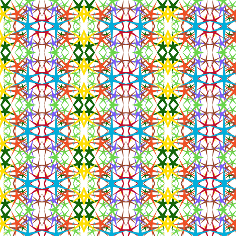 starburst 2 fabric by ravynscache on Spoonflower - custom fabric