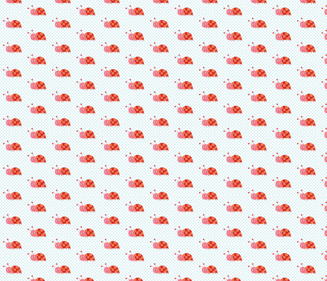 Pretty Ladybug fabric by lesley_grainger on Spoonflower - custom fabric