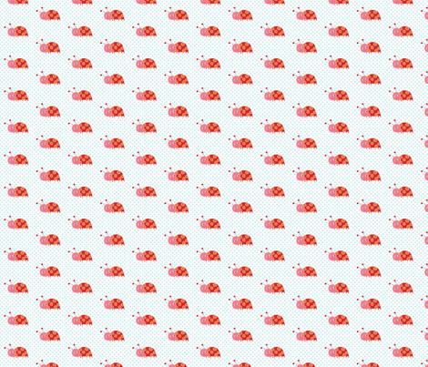Pretty Ladybug fabric by lesley_grainger on Spoonflower - custom fabric