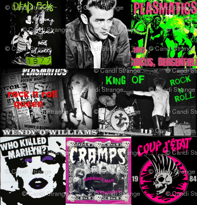 punk collage