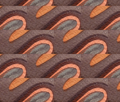 Metalic Bitumen fabric by neekburkitt on Spoonflower - custom fabric