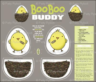 BooBoo Buddy (cut + sew critter)