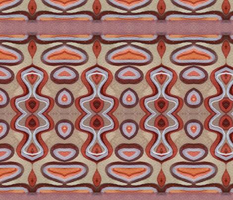 Fossicing for Rusty Bits fabric by neekburkitt on Spoonflower - custom fabric