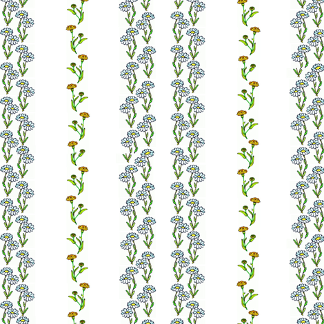 Fleurs fabric by ravynscache on Spoonflower - custom fabric
