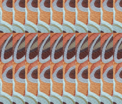 Pinnacles, Sun and Surf fabric by neekburkitt on Spoonflower - custom fabric