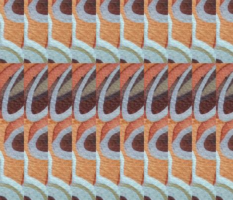 Pinnacles, Sun and Surf fabric by neekburkitt on Spoonflower - custom fabric