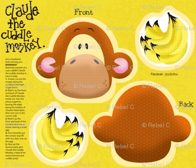 Claude the Cuddle Monkey