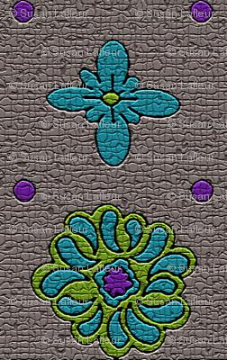 Floral Dots Mosaic