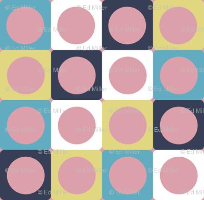 Cat Dots (pink)