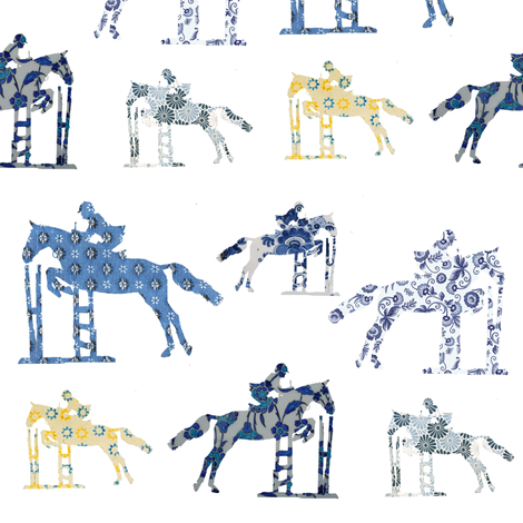 Delft Jumpers fabric by ragan on Spoonflower - custom fabric