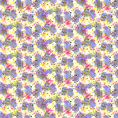 Hashmarks fabric by ravynscache on Spoonflower - custom fabric