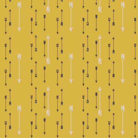 NativeArrows fabric by mrshervi on Spoonflower - custom fabric