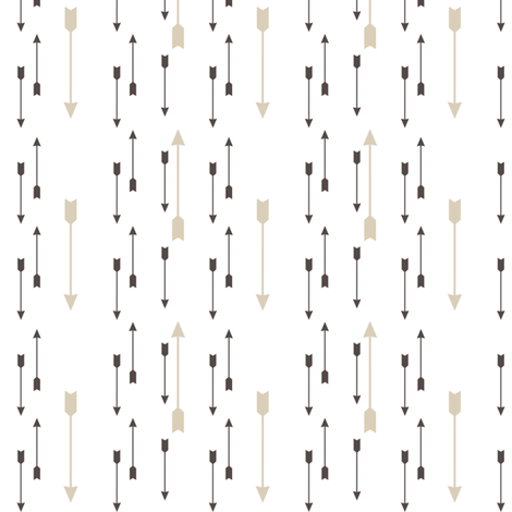 Arrows fabric by mrshervi on Spoonflower - custom fabric