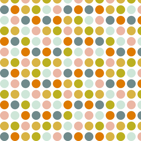 SorbetPolkaDots fabric by mrshervi on Spoonflower - custom fabric