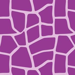 Mamma Giraffe -- Purples