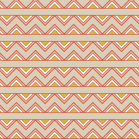 ZigZagStripe fabric by mrshervi on Spoonflower - custom fabric