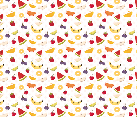 Fruit Salad fabric by ephereal on Spoonflower - custom fabric