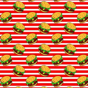 Cheeseburger Dream Stripe