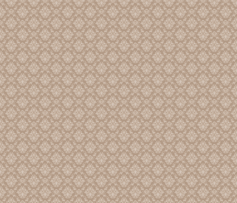 Vintage Damask fabric by geekycuties on Spoonflower - custom fabric