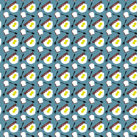BaconNEggs fabric by william_bohrer on Spoonflower - custom fabric