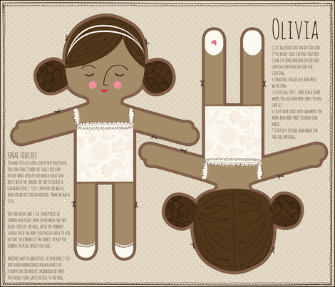 Olivia_ballet fabric by stacyiesthsu on Spoonflower - custom fabric