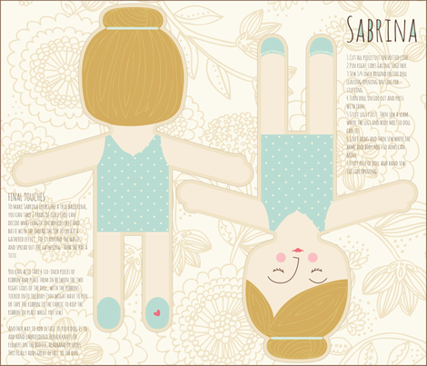 Sabrina_ballet fabric by stacyiesthsu on Spoonflower - custom fabric