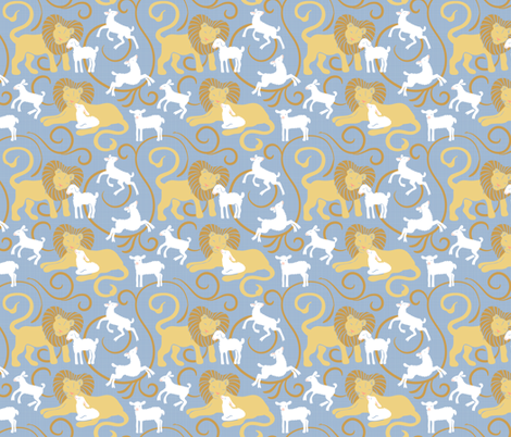 Gentle Spring fabric by dianne_annelli on Spoonflower - custom fabric