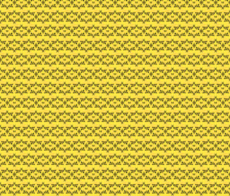 Florentine (yellow) fabric by ravynscache on Spoonflower - custom fabric