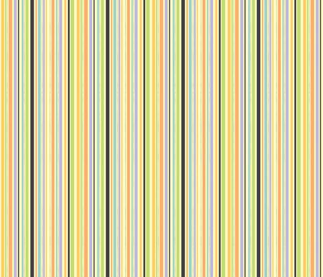 Catnap coordinate-stripe fabric by jennartdesigns on Spoonflower - custom fabric