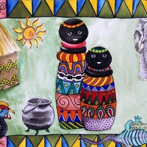 African_village_by Sylvie