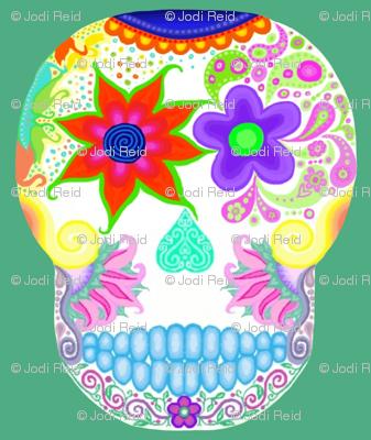 Scull flower