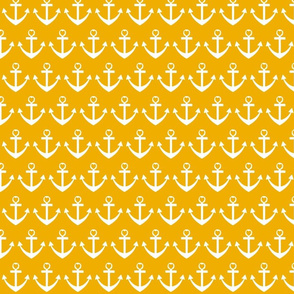 Heart Anchor Yellow