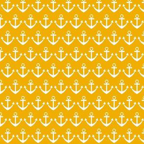 Heart Anchor Yellow