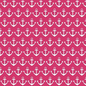 Heart Anchor Pink
