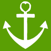 Heart Anchor Green