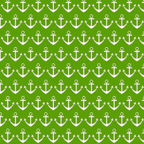 Heart Anchor Green