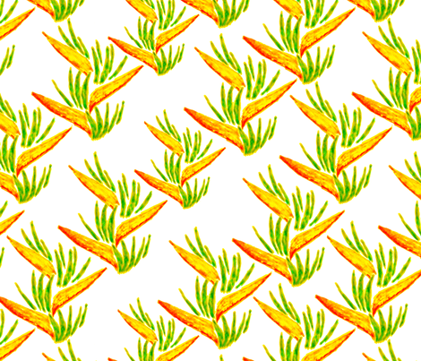 exotic14_repeat_ fabric by isabel_isaza on Spoonflower - custom fabric