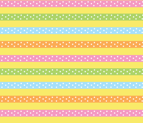 ribbonstripe fabric by mammajamma on Spoonflower - custom fabric
