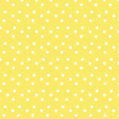 dotted_swiss-yellow fabric by mammajamma on Spoonflower - custom fabric