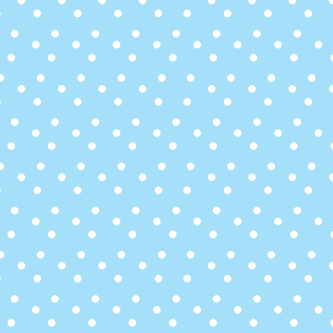 dotted_swiss-blue fabric by mammajamma on Spoonflower - custom fabric