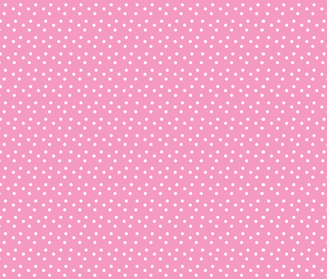 dotted_swiss-pink fabric by mammajamma on Spoonflower - custom fabric