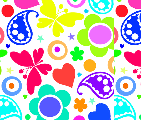 Summer Fun  fabric by tomhaggerty on Spoonflower - custom fabric