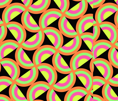 Psychedelic Squares fabric by tomhaggerty on Spoonflower - custom fabric
